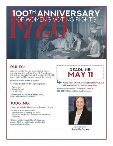 100 Anniversary of Womens Voting Rights 2